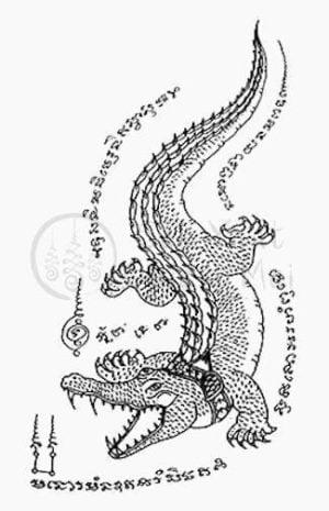 Crocodile-Sak-Yant-Meaning