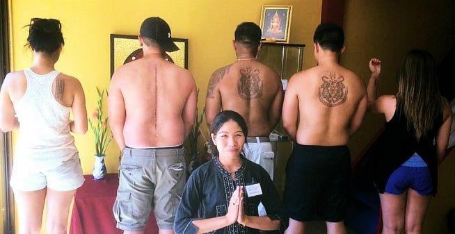 About Sak Yant tattoos