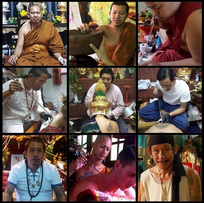 Chiang Mai Sak Yant Masters
